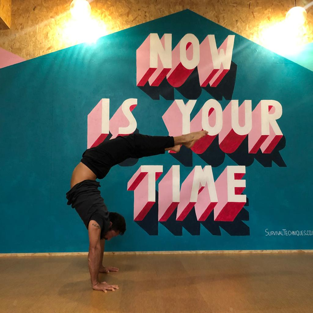 Handstands with Alex Nino - Workshop at Yoga House, London - Catford and Lee