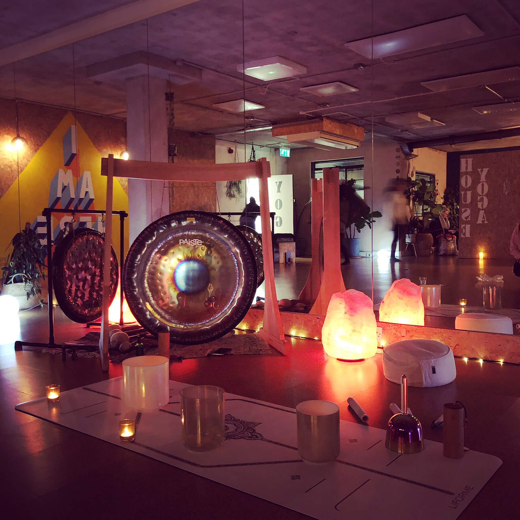 Back in the Studio | Gong Bath with Junior Valentine - Workshop at Yoga House, London - Catford and Lee