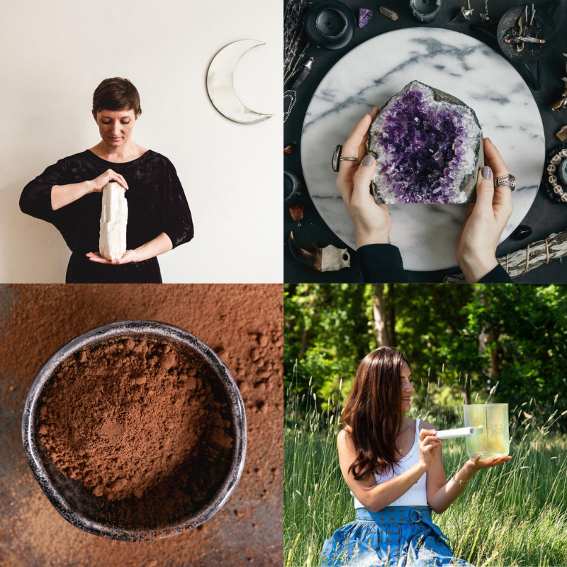Manifest with Crystals & Cacao -  A Self Indulgence Afternoon   - Workshop at Yoga House, London - Catford and Lee