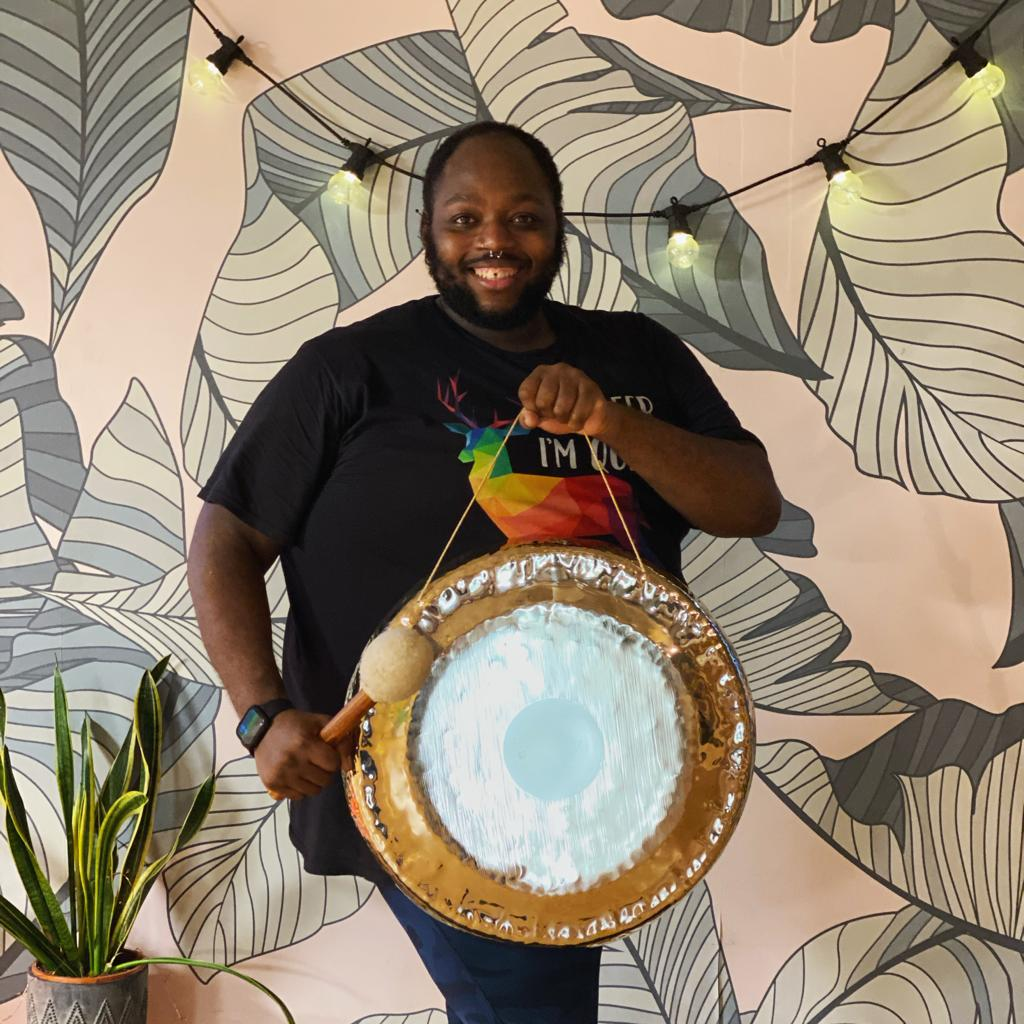 Gong Bath with Junior Valentine - Workshop at Yoga House, London - Catford and Lee