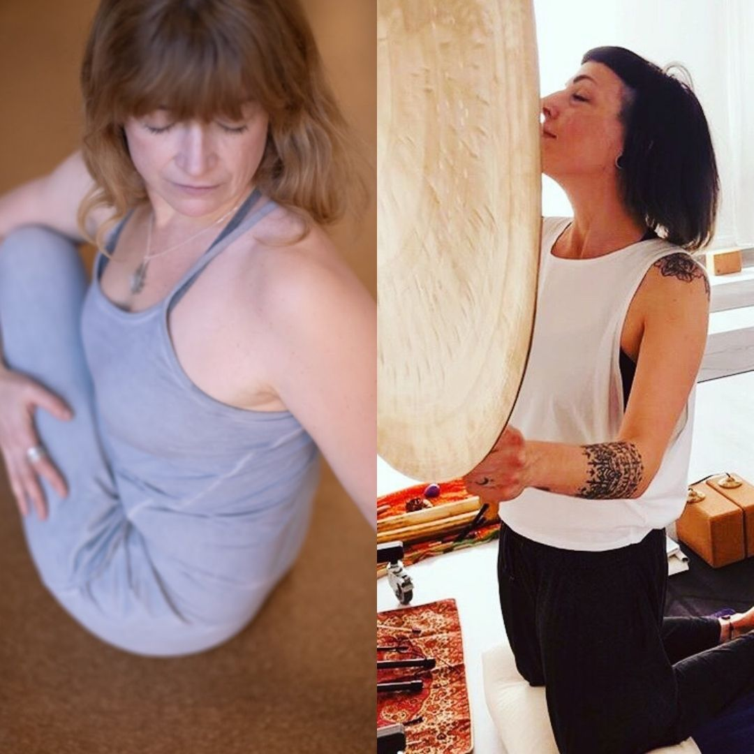 Opening to Joy | Creating a Calm & Tranquil Heart + Sound Bath with Sasha Gabbe & Martina Saorin - Workshop at Yoga House, London - Catford and Lee
